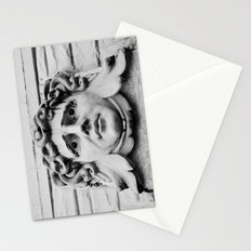 Face of stone Stationery Cards