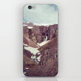 backyard waterfall iPhone Skin