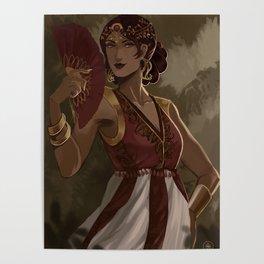 Royalty at te garden Poster
