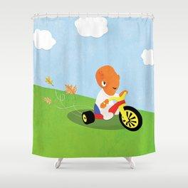 SW Kids - Big Wheel Ackbar Shower Curtain