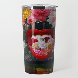 Flower  Vomit Travel Mug