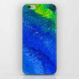 """""""Riptide #4"""" Oil Painting iPhone Skin"""