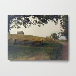 Country Roads II Metal Print