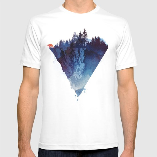 near to the edge t shirt by robert farkas society6