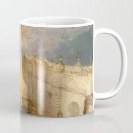 """J. M. W. Turner """"The Burning of the Houses of Lords and Commons""""(1834) Coffee Mug"""