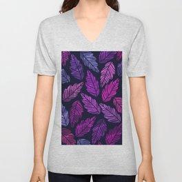 Colorful leaves III Unisex V-Neck
