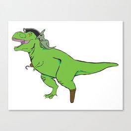 Tyrannosaurus Arrrrrex Canvas Print