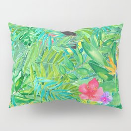 Foret tropicale Pillow Sham