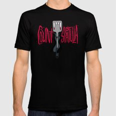 Count Spatula Mens Fitted Tee SMALL Black