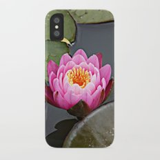 Pink Lilly Slim Case iPhone X