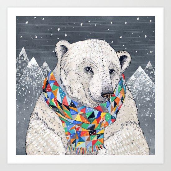 Penwyn Polar Bear Art Print