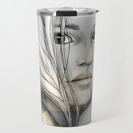 """""""Reflection I"""" by carographic Travel Mug"""