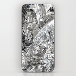 Silver Mylar Balloon iPhone Skin