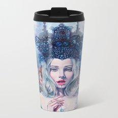 Self-Crowned Metal Travel Mug