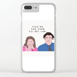 Pam to my Jim Clear iPhone Case
