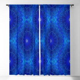 Les fleurs sont bleues Blackout Curtain