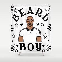 Beard Boy: Jerome 2 Shower Curtain
