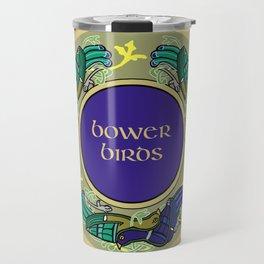 Bower Birds Circle Purple 2019 Travel Mug