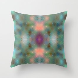 Abstract Dream - Dots Throw Pillow