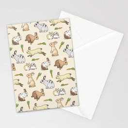 Rabbits Stationery Cards