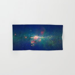 Stars Gather in 'Downtown' Milky Way Hand & Bath Towel