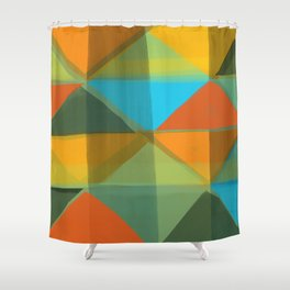 Harlequin 1 Shower Curtain