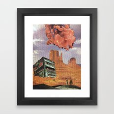 Monument Valley, 2120 A. D. Framed Art Print