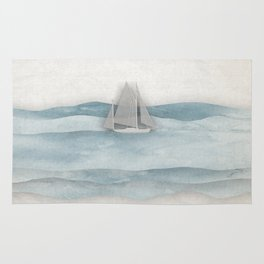 Floating Ship Rug