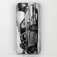 porsche iPhone & iPod Skins featuring Porsche  by Marcela Caraballo