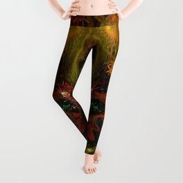 Ca Light (psychedelic, visionary, totem) Leggings