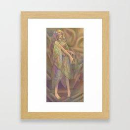 Prismatic Being Framed Art Print