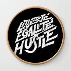 Liberté, égalité, hustle! Wall Clock