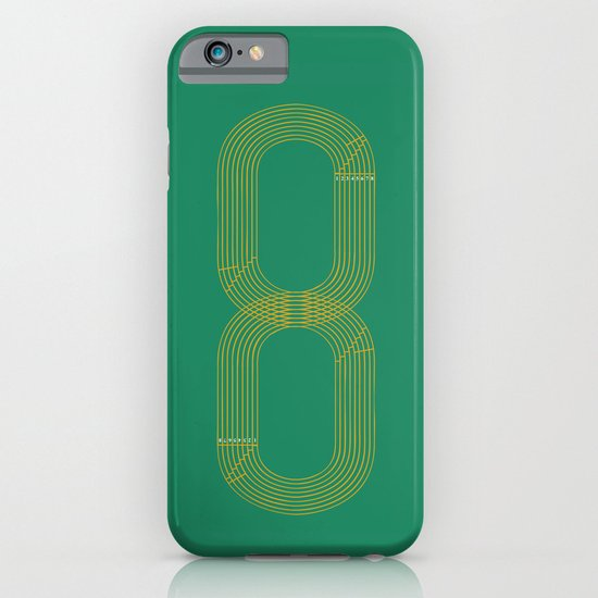 Eight track - runners never quit iPhone & iPod Case