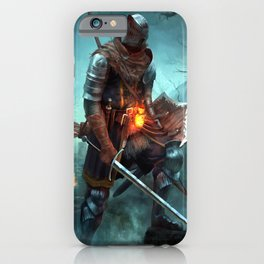 Dark Souls Pixel Bonfire iPhone Case