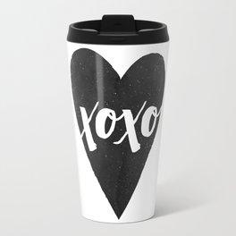 Watercolor XOXO - Jet Travel Mug