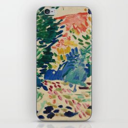 Landscape at Collioure - Henri Matisse - Exhibition Poster iPhone Skin