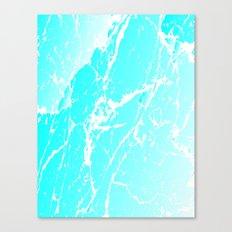 Cracked Ice Canvas Print