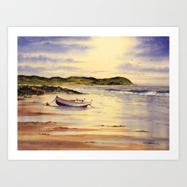 Mull Of Kintyre Scotland Art Print
