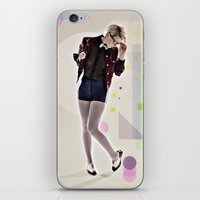 8 bit iPhone & iPod Skins featuring 8 Bit by MCGRORY