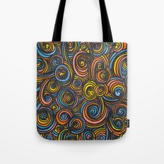Let Go - color Tote Bag