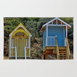 Wells next the sea Beach Huts Rug