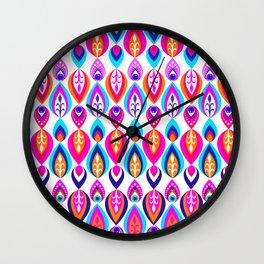 Pierrot II/Happy Memoir Pattern Wall Clock