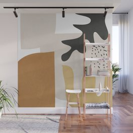 Abstract Shapes  2 Wall Mural