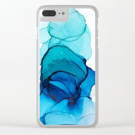 Mood: Depression Clear iPhone Case