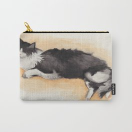 Sunbathing Lucy Carry-All Pouch