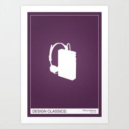 Design Classics - Walkman Art Print
