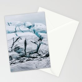 Glacial World of Iceland - Landscape Photography Stationery Cards