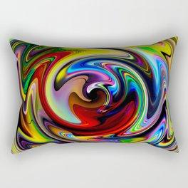 Abstract - Perfection 100 Rectangular Pillow