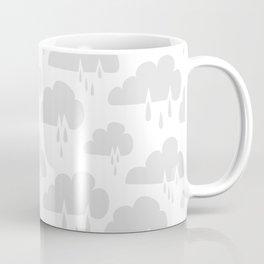 Weather Rain Cloud Never Ending Grey Coffee Mug