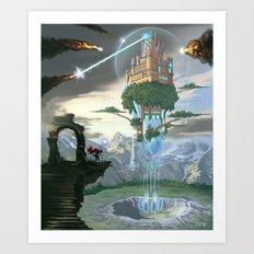 Sky Fortress Art Print